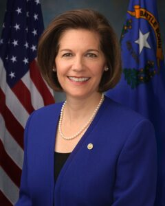 Photo of Senator Catherine Cortez Masto
