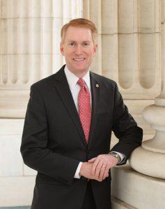 Headshot of Senator James Lankford