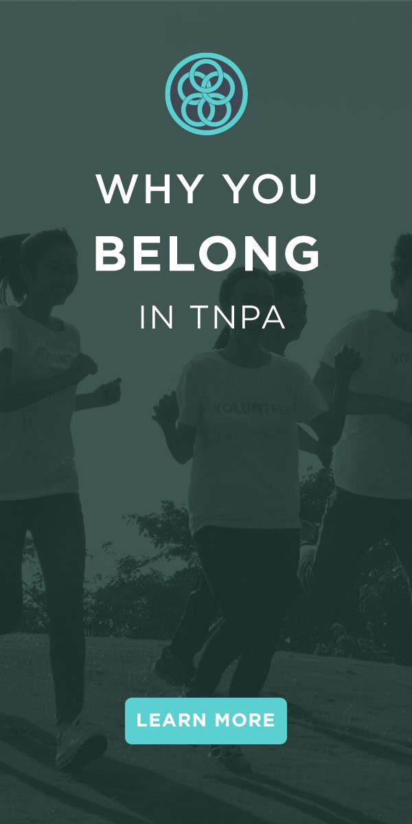 Why you belong in TNPA