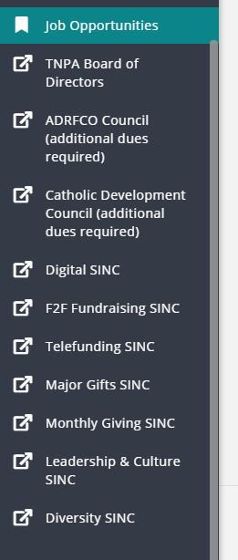List of SINCs